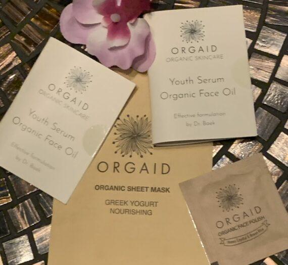 Orgaid – kvällsmask