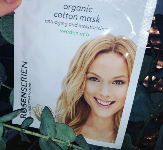 Rosenserien organic cotton mask