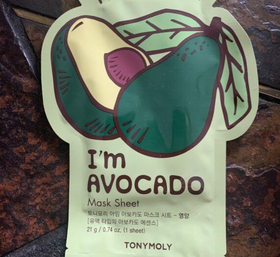 Tony Moly Im avocado Mask Sheet