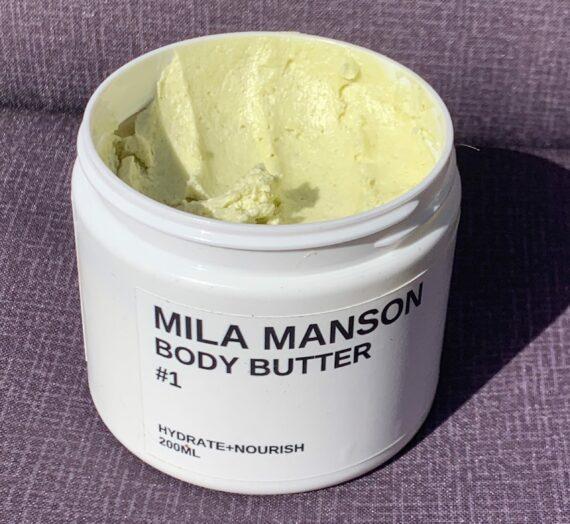 Mila Manson Body Butter #1 Mango
