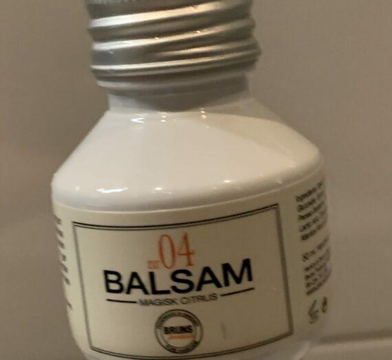 Bruns Products nr04 magisk citrus balsam