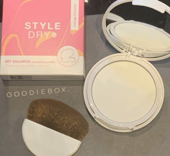 Style Dry Dry shampoo compact powder