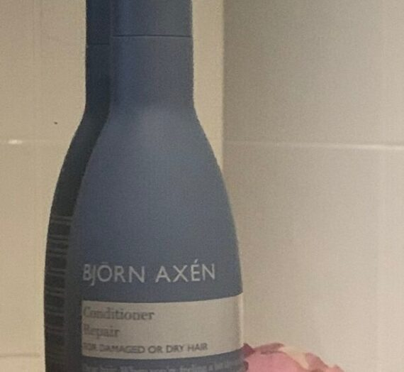 Björn Axén conditioner repair for damaged hair