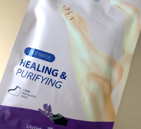 Stay Well footmask healing & purifying