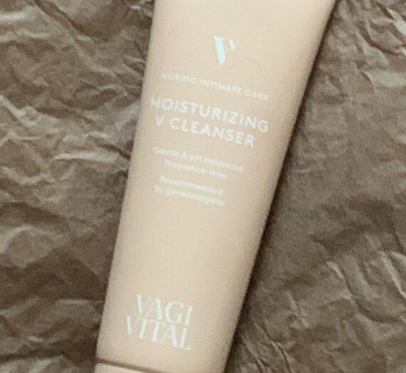 Vagivital moisturizing v cleanser