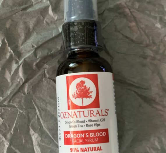 OZ Naturals Dragons blood face serum