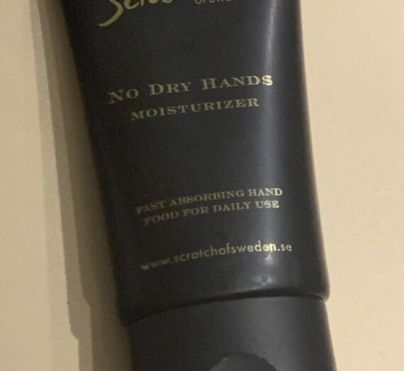 Scratch no dry hands moisturizer