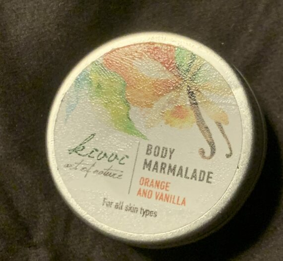Kivvi body marmalade orange & vanilla