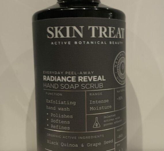 Skin Treat radiance reveal hand soap scrub