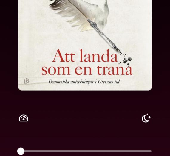 Att landa som en trana – Kajsa Ingemarsson