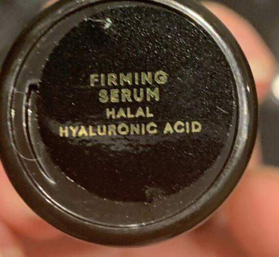 Anaaka Firming serum hyaluronic acid