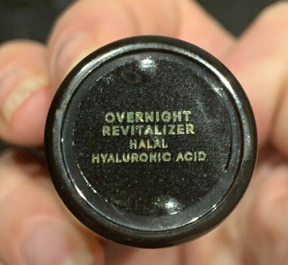 Anaaka overnight revitalizer hyaluronic acid
